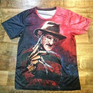 Freddy Krueger Lycra T-Shirt